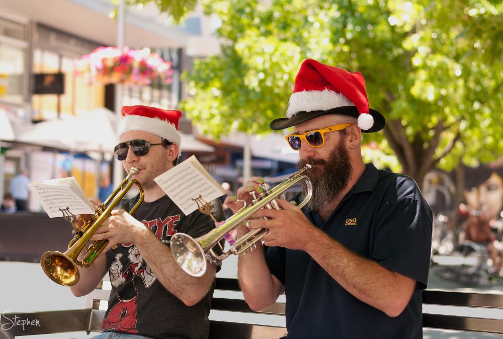 Jazz at Christmas in the Ctiy - Garema Place