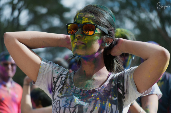 Holi Festival of Colours in Canberra