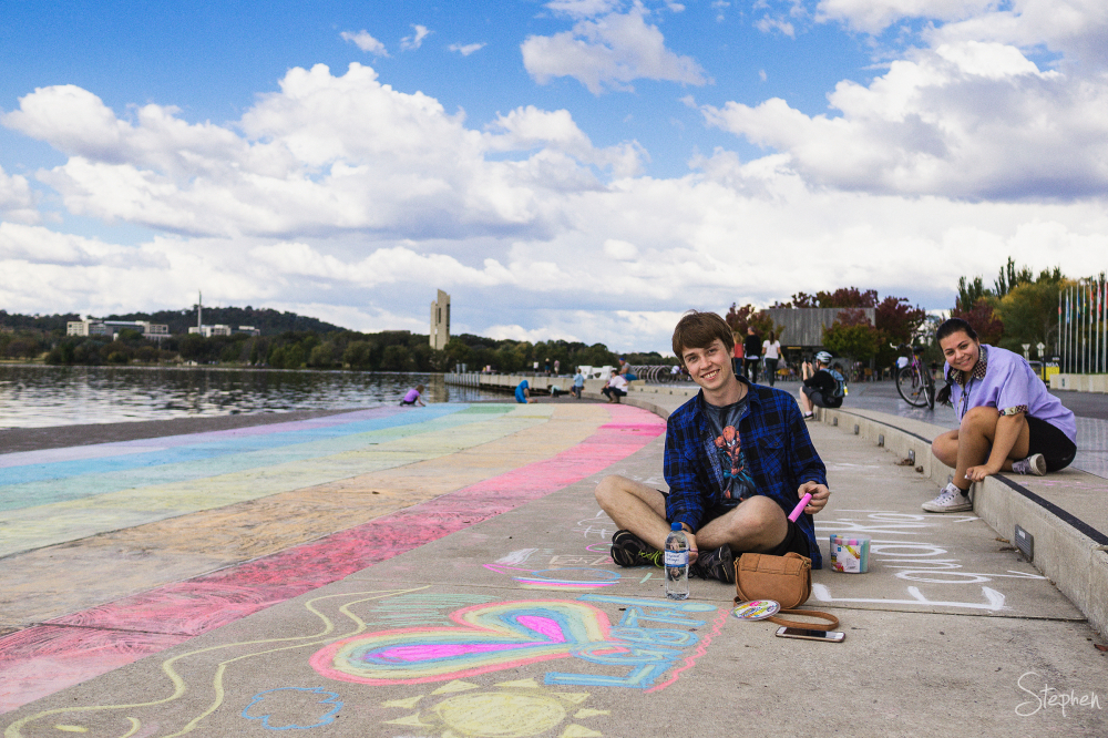 DIY Rainbow Day in Canberra