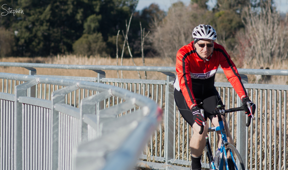 Cycling around Jerrabomberra Wetlands
