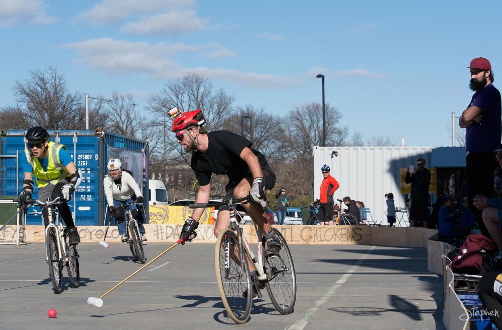 Inaugural Canberra Bike Polo Tournament - Westside