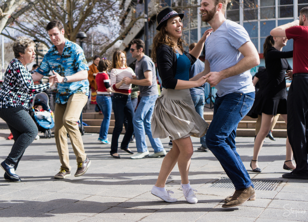 Canberrang Swing Dance festival Garema Place