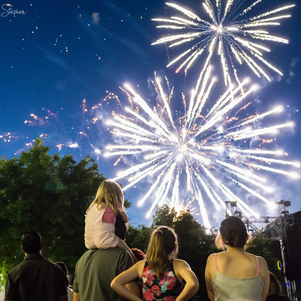 New Year's Eve in Civic Square Canberra