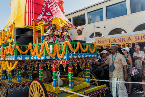 Hare Krishna temple at Multicultural Festival
