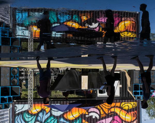 Westside during the Art Not Apart festival