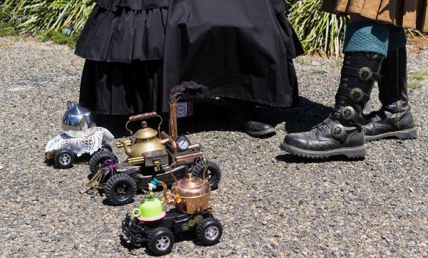 Steampunk Victoriana fair in Goulburn