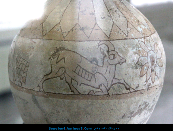 ظرف سفالی باستانی ایران
