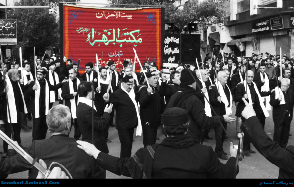 عزاداری آذرباییجانی ها برای امام حسین