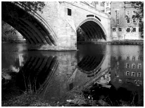 bridge reflection durham