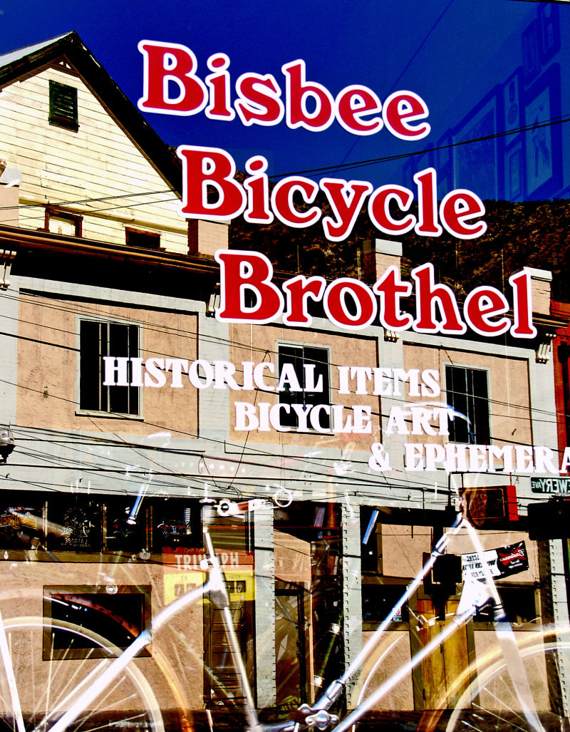 BISBEE BICYCLE BROTHEL