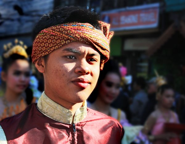 YOUNG MAN IN CHIANG MAI