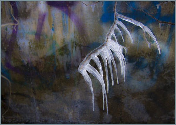 Frozen Graffiti