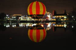 Disney Village At Night Time