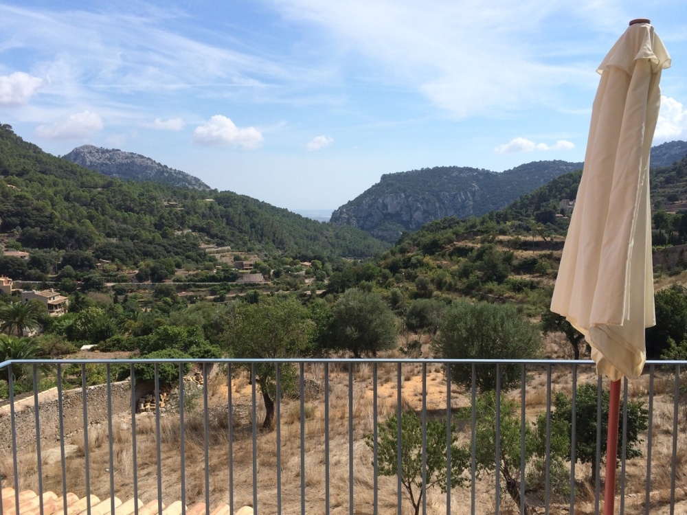 Balcony View, Valldemosa