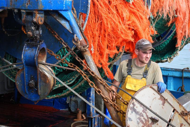 Pêcheur breton de Saint-Guénolé