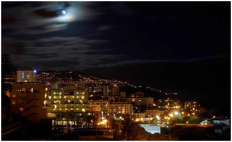 Moonlight in Funchal