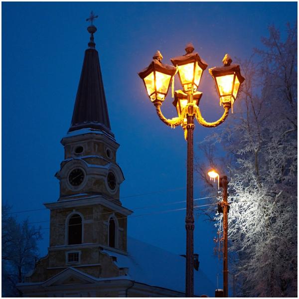 Katariina kirik, Võru