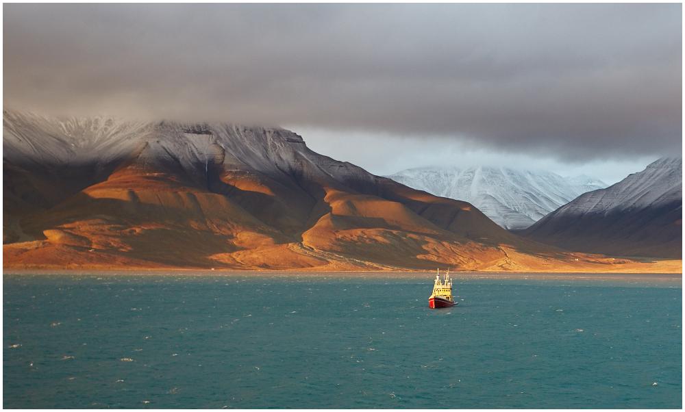 Adventfjordern, Svalbard