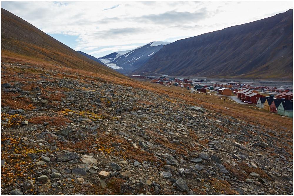 View to Longyearbyen
