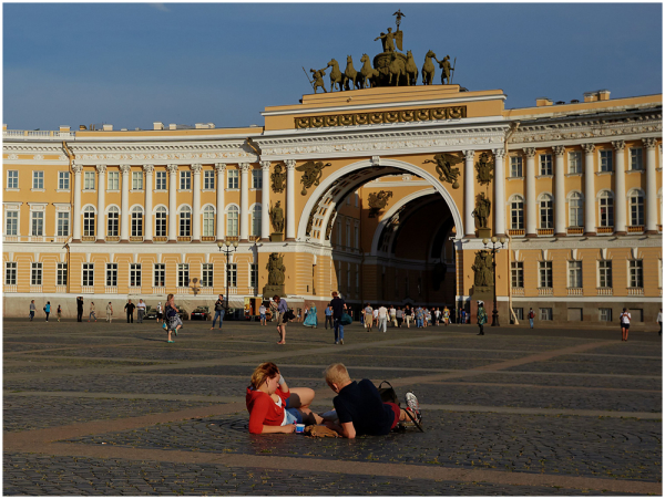 Palace Square, Saint Petersburg, Russia