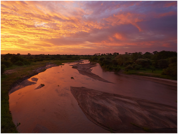 Morning on Tarangire River