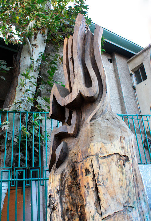 Tree, God, Sculpture