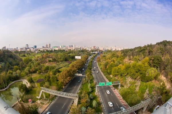 Nature Padestrain bridge, Ab-o-Atash Park, Tehran