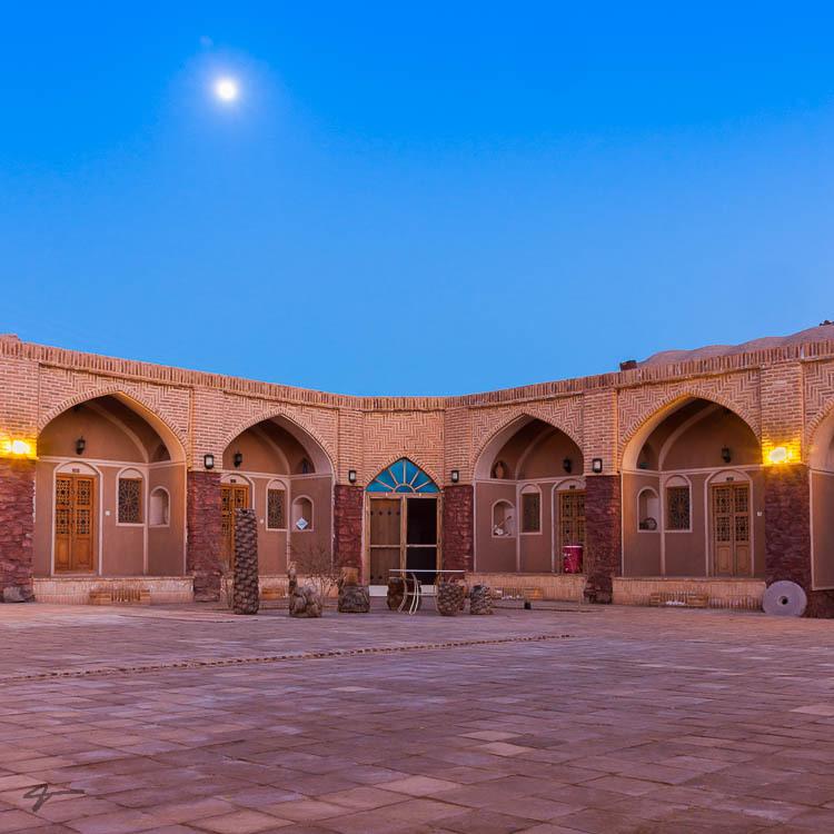 Anarak Inn, Naein, Desert, Iran, Carvan serai