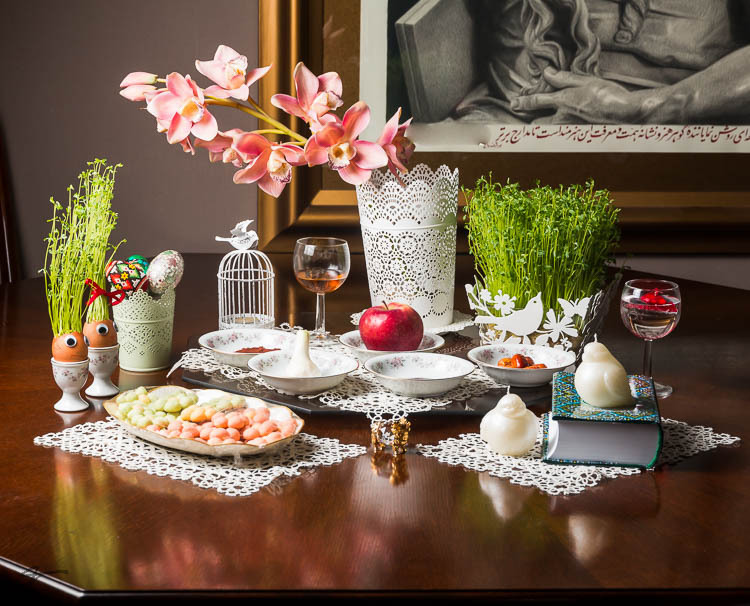 Nowruz, Persian New Year, Haft_Sin, Fest, Spring
