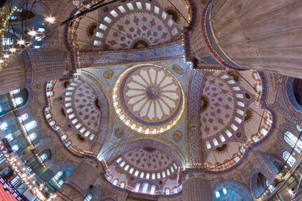 Blue, Mosque, Sultan Ahmed, Istanbole, Turky