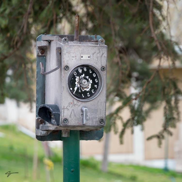 Telephone, Nostalgic, Niavaran palace, Tehran