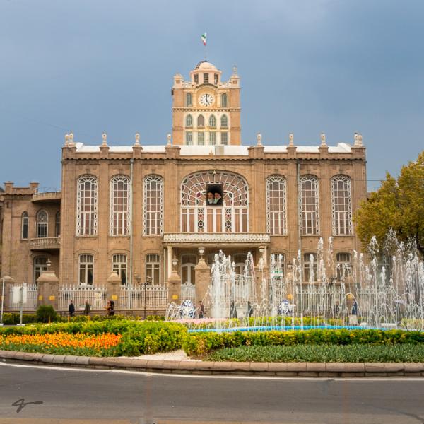 Tabriz, clock tower, municipally