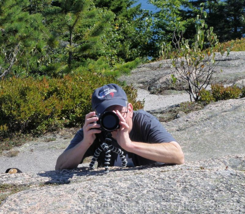 Yours Truly from Acadia National Park Sep 2009