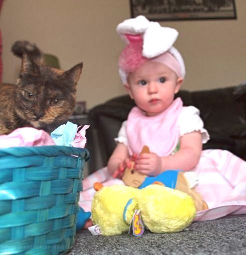 AJ's First Easter