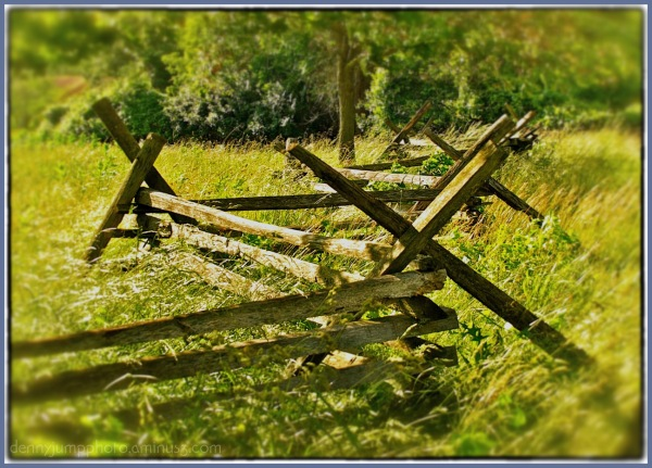 """A Fence for Richard"" - Valley Forge - 2"