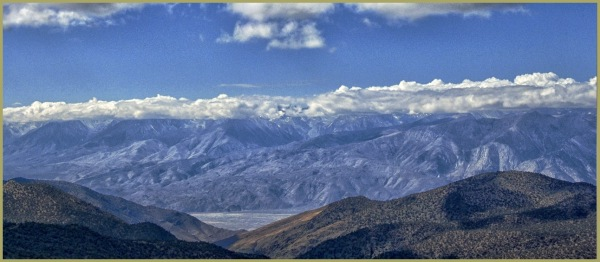 View Down to Owens Valley