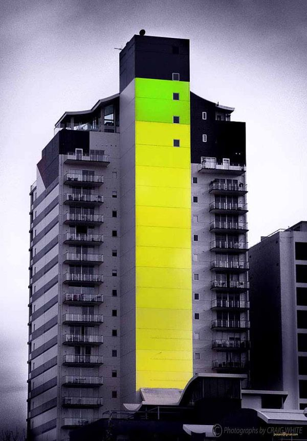 Giant Hi-lighter in Perth City