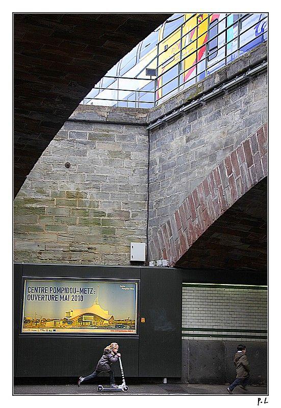 le passage de l'Amphitéâtre à Metz