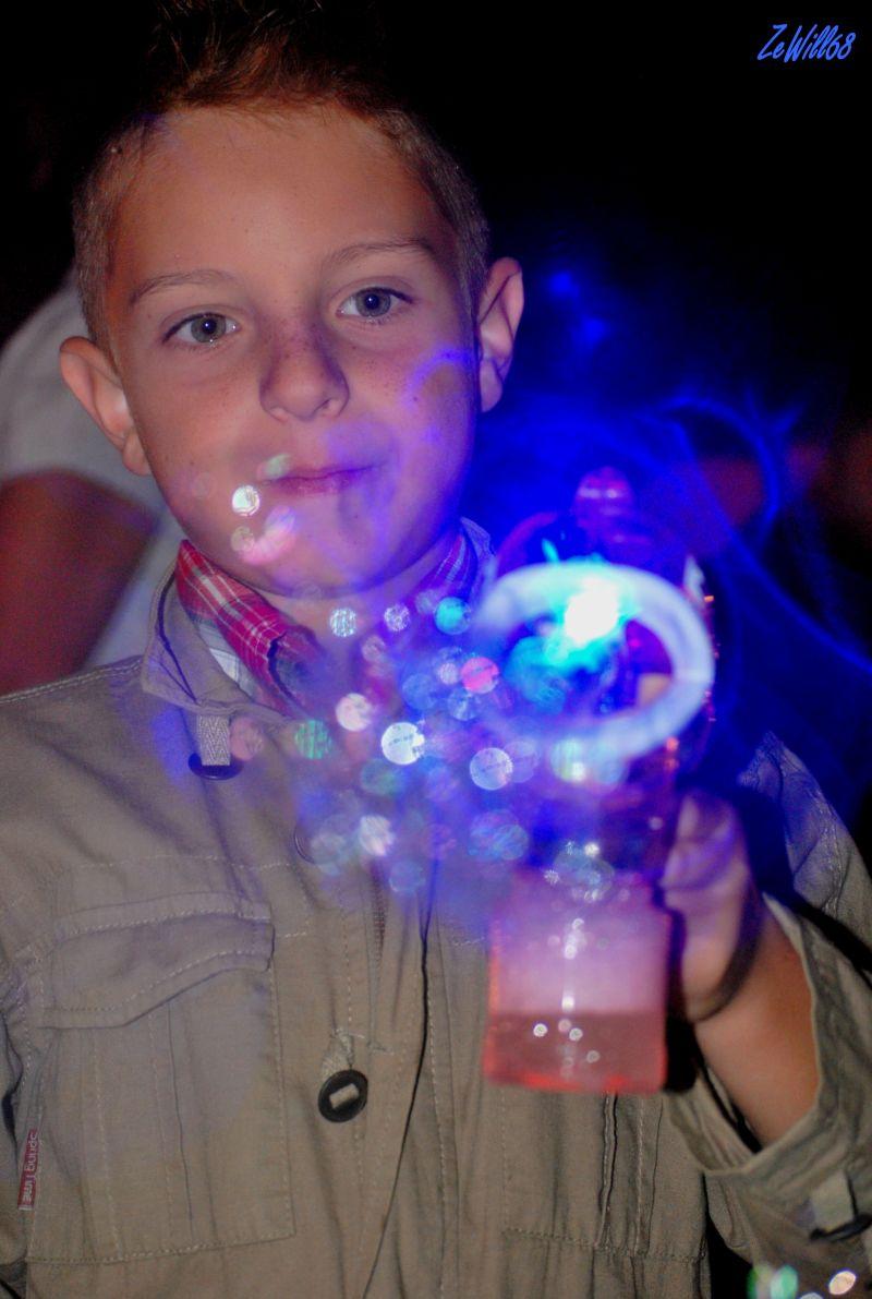 Attaque de bulles ...