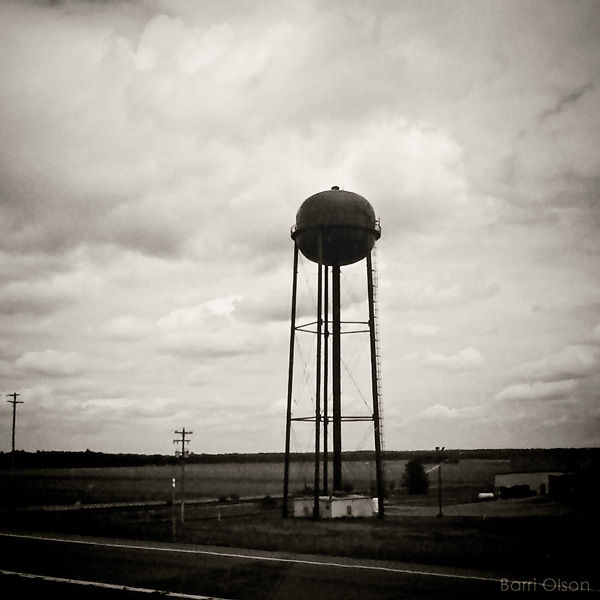 Water tower at Plover