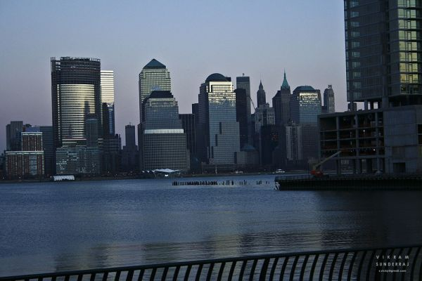 New York from Jersey City