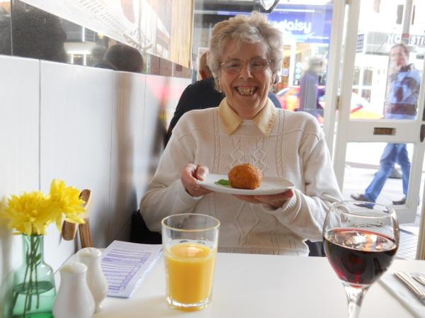 The Smile in London (risotto balls)