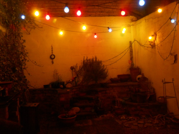 Christmas lights... tick!