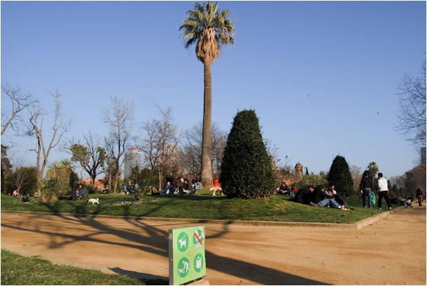 Project: Life in Parc de la Ciutadella