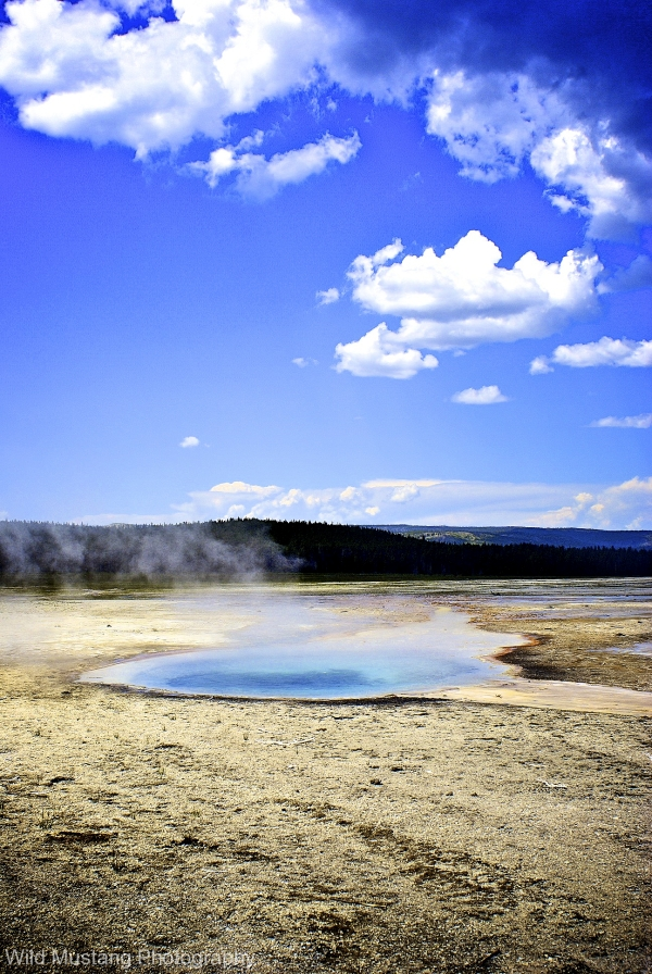 Yellowstone National Park   Geo thermal  hot