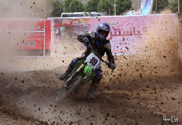 Motor cross racing