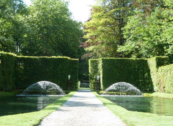 Château d'Annevoie.Les Jardins  2