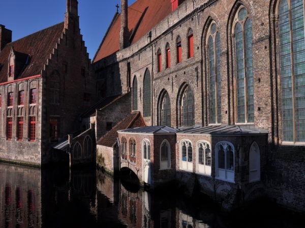 Belgique, Bruges, Architecture.