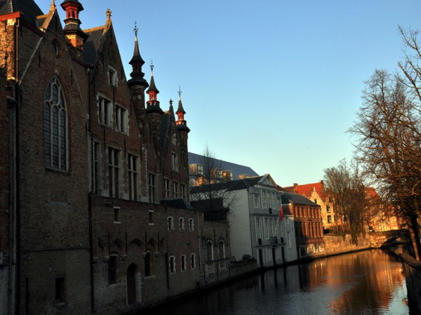 Bruges 4/4. Fin de journée.