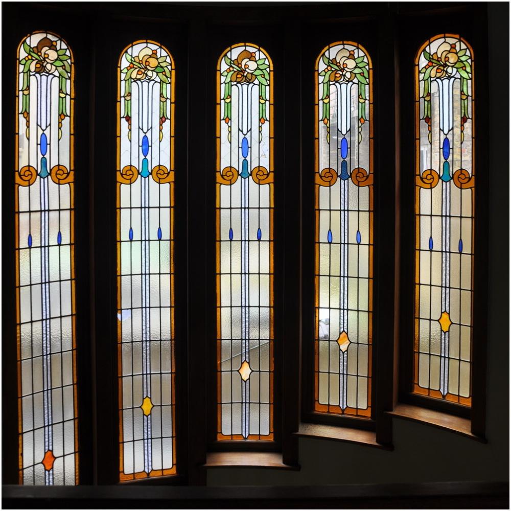 Vitraux Art Nouveau. 1